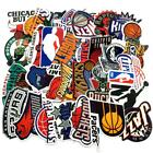 NBA and Team Logo Small Vinyl Die Cut Stickers Indoor Outdoor