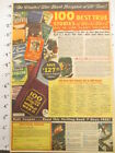 Newspaper Ad 1945 American Weekly Wm Wise 100 Best True Story Of Wwii Book Offer