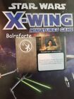 X-Wing Miniatures Sensor Slot upgrade card singles second edition 2.0 System