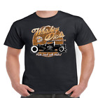 Whiskey Dicks T Shirt Automotive Parts Hot Rod Classic Car #48