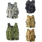 1pc Tactical Military Vest Army Paintball Airsoft Combat Assault Vest Adjustable