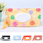 US Eco-friendly Clean Wet Wipes Bag Clamshell Portable Snap-strap Wipe Container