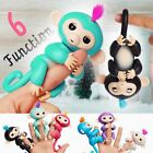 Finger Little Electronic Pet Monkey Clings Toy 6 Function Interactive Sense