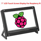 7inch Capacitive IPS LCD Touch Screen Display HDMI +Stand Case For Raspberry Pi
