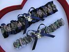 NEW Mossy Oak Camouflage Camo Navy Wedding Garter Prom GetTheGoodStuff Deer
