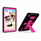 Hybrid Heavy Duty Rubber Shockproof Stand Case Cover For Amazon Kindle Fire HD 8