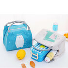 1pc Kawaii Baby Food Bag Portable Thermal Oxford Insulation Lunch Bag Convenient