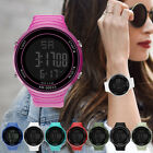 Men Women Ladies Simple Large Dial Digital Outdoor Sports Wristwatch Watches BY image
