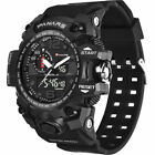 PANARS Mens Military Digital Sport Tactical Waterproof LED Backlight Wrist Watch image
