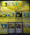 Pokemon Trading Card- Pikachu-several Variations Most Are Nm -pick Your Pikachu