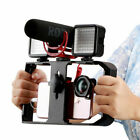 Video Camera Cage Stabilizer Mount Holder Handheld Frame Film Rig Vlog Phone