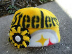 Pittsburgh Steelers NFL Fleece Flower Hat HANDMADE Newborn Baby Girls to Adults $9.95 USD on eBay