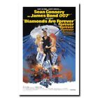 Diamonds Are Forever 20x30 24x36inch 007 James Bond Movie Silk Poster $5.99 USD on eBay