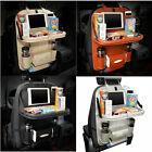 Car Back Seat Organizer With Phone Tablet Holder Touch Screen Pocket Storage Bag