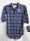 New York Yankees Girls Flannel Night Gown 100% Polyester Flame Resistant NWT on Ebay