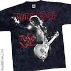 LED ZEPPELIN-JIMMY PAGE-ZOSO-TIE DYE TSHIRT 5X, 6X Vintage, Limited- RARE image