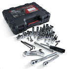 Craftsman 108 Pc SAE Metric Mechanics Tool Set Tools Socket Wrench Case