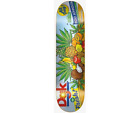 DGK Boo Johnson Tasty Dole Tropical Fruit 8.0 Skateboard Deck image