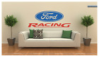 "Ford Racing Large Wall Decal Vinyl Art 22"" Tall 57"" Long"