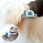 PET DESHEDDING COMBS TOOLS GROOMING BRUSH SAFETY DOG CAT FUR REMOVAL RAKES S/M/L