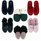 Victoria's Secret Slippers House Shoes Slides Lounge Footwear Sleepwear New Vs