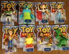 "DISNEY Toy Story 4 Posable 8"" Forky BoPeep Bunny Ducky Buzz Woody Tinny Duke"