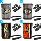 Anaheim Ducks Phone Pouch Neck Strap For iPhone X Xs Max Xr 8 7 6 Plus $9.99 USD on eBay