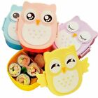 Hoomall® 900ml Cute Owl Pattern Students Lunch Box With Spoon Portable Kid Bento