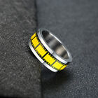 Men Wedding Ring Movie Roll Film Design Spinning Spinner Band Photographer Gift