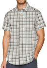 Craghoppers Holbrook Short Sleeve Mens Check Shirt - Grey