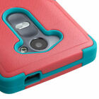 For LG C40 Hybrid TUFF Rubber Hard Cover Protector Case