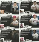 2019 TOPPS SERIES 2 BASEBALL FRANCHISE FEATS U-PICK COMPLETE YOUR SET TROUT