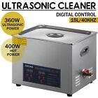 30L Ultrasonic Cleaner Cleaning Equipment Liter Industry Heated W/ Timer Heater <br/> √2 Years Warranty √√USA Seller√√One Day Shipping√√