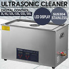 Kyпить 30L Ultrasonic Cleaner Cleaning Equipment Liter Industry Heated W/ Timer Heater на еВаy.соm