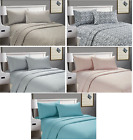 Cozy Home Printed Soft Beautiful 4-Piece Bed Sheet Set Queen Size Deep Pocket  image