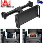 "Universal Car Seat Back Headrest Mount Holder For 4.7~10.5"" Ipad Phone Tablet Au"