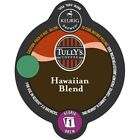 Tully's Hawaiian Blend Coffee 8 to 48 Count Keurig K-Carafe Pods Pick Any Size