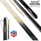 2 x Aaweal 58'' Inch Wooden Snooker/Pool Cues Sticks Set £18.99 GBP on eBay