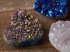 Kyпить AURA QUARTZ Druzy Crystal Heart - 1.6