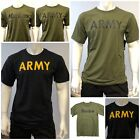 Mens Army Military Outdoor Gym Training Boot Camp Camo T-shirt Tee for sale  Shipping to South Africa