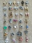 NEW Authentic Origami Owl Floating charms Religious cross Faith Holiday Jewish  image