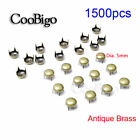 3mm~12mm Round Claw Studs Rivet Spike Punk Garment Leather Craft DIY Accessory