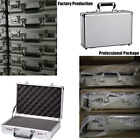Small Aluminum Hard Storage Cases Hunting Carrying Case Office Boxes with foam