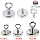 90-180lb Strong Salvage Magnet Pot Fishing Magnets Deep Sea Salvage Fishing Hook