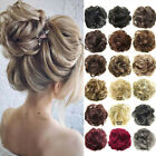 Synthetic Wavy Hair Bun Flexible Curly Messy Scrunchie Wrap Ponytail Extensions