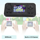 2 in 1 416 Games Handheld Console External Battery Charger 8000mAh Power Bank