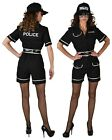 Deluxe Police Woman , XS-XXL , Shorts Style inc Cap