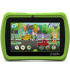 LeapFrog Epic 7-Inch Touchscreen Kids Tablet w/ 16GB Memory & Android OS, Green
