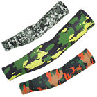 Outdoor Cycling Sunscreen Arm Sleeve Camouflage Sunshade Hand Elbow Cover