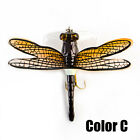 Topwater  Bionic Bait Treble Hooks Flies Insect Dragonfly Fly Fishing Lure-